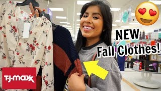 Come Shop With Me: NEW Fall Clothes at TJMAXX, Marshalls, and Target!