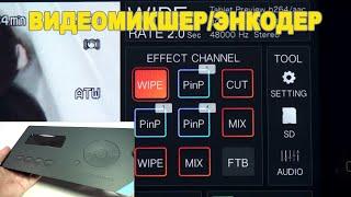 Обзор видеомикшера/енкодера Cerevo LiveWedge.