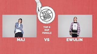 Maj vs Ewulin | 1/4 RAP Female | Pasibrzuch 2019