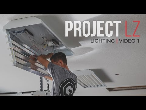 The LZ Garage Project: Lighting Video 1
