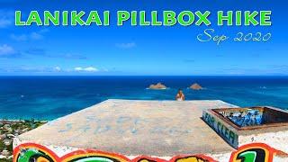 Lanikai Pillbox Hike | One of Most Beautiful Hiking Trails in Oahu  | Kailua & Lanikai Beach View🌴