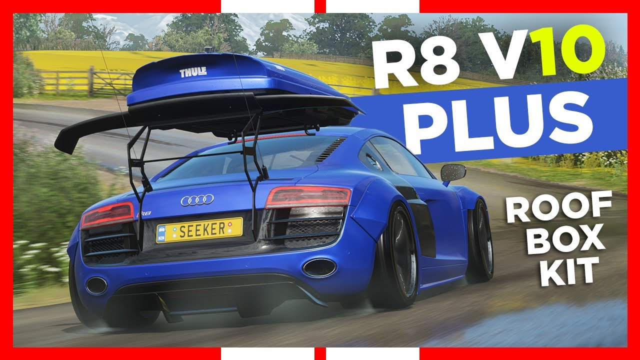 Forza Horizon 4 | 2013 Audi R8 V10 PLUS - Roof Box Kit ...