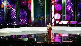 Phần trình diễn của Á hậu Kiko Chan tại Chung kết Hoa hậu Toàn cầu 2019 (Miss Global)