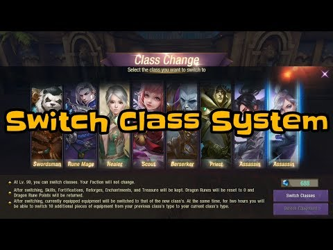 Taichi Panda 3 Switch Class System Ice mage to Assassin