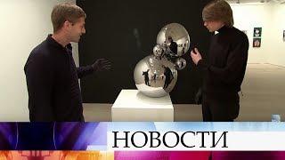 Символом открывшейся вЛондоне ярмарки «Московская галерея» стала гигантская неваляшка Агата
