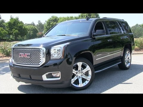 2015 GMC Yukon Denali Start Up, Test Drive, and In Depth Rev