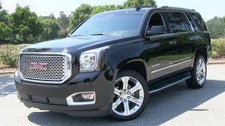2015 GMC Yukon Denali Start Up, Test Drive, and In Depth Review