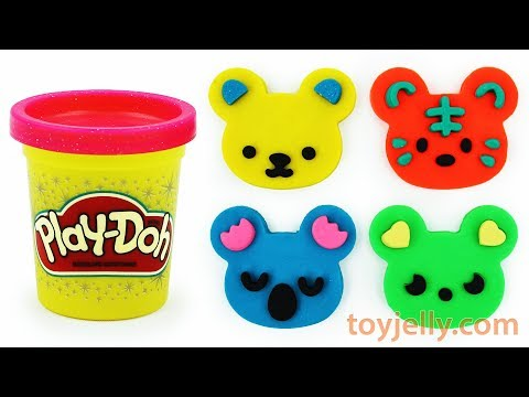 Play Doh Animal Ice Cream Cars Popsicles with Cookie Cutter Molds Fun for Kids Baby Nursery Rhymes