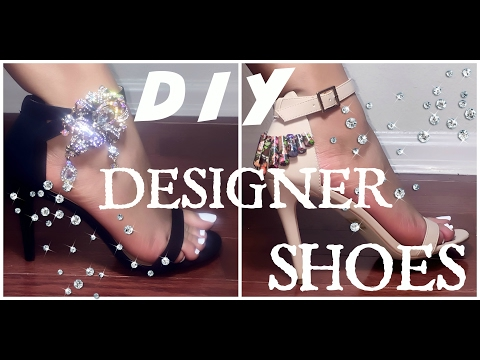 DIY Designer Shoes without breaking the bank! 💰