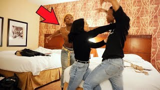BOYFRIEND'S BROTHER HITS ON GIRLFRIEND PRANK! *physical fight*