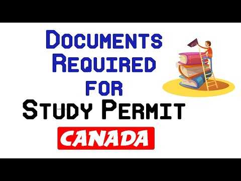 What Are The DOCUMENTS Required For Study Permit? Study In Canada 2020