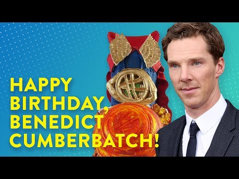Benedict Cumberbatch Birthday Cake | Genius Kitchen
