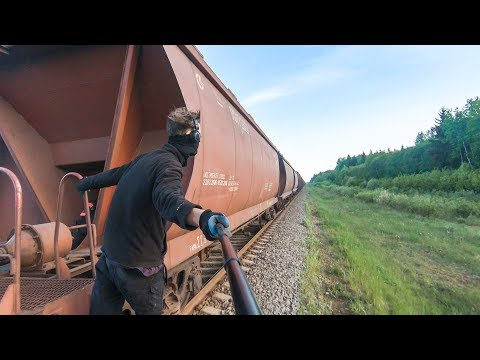 Train Surfing Journey To The Baltic Sea | Part 3