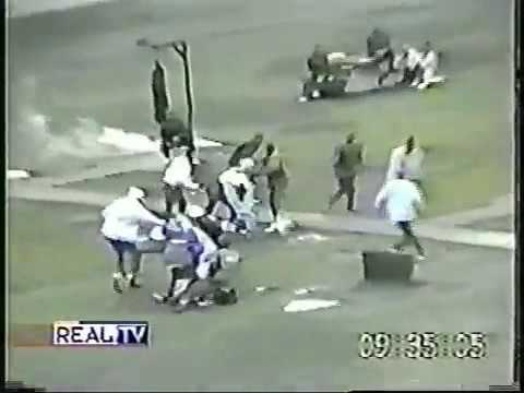 California Prison Riot Film Footage