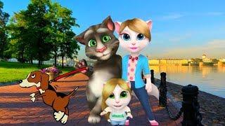МОЯ   ГОВОРЯЩАЯ АНДЖЕЛА  МОЙ ВИРТУАЛЬНЫЙ ПИТОМЕЦ #301 Мультик про котиков #УШАСТИК KIDS