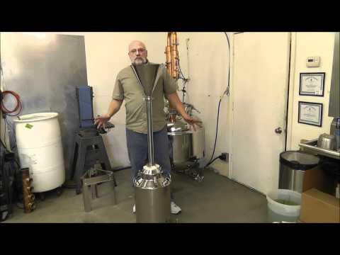 Moonshine Still ,Carbon filter System.wmv