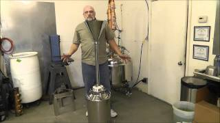 www.hillbillystills.com Moonshine still carbon filter system.