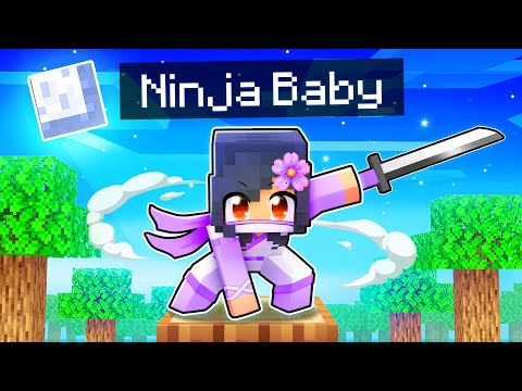 Sneaking Around as a BABY NINJA In Minecraft! - Aphmau
