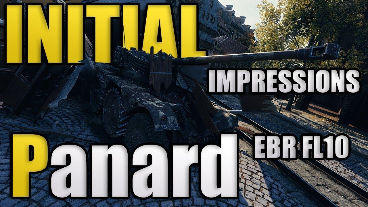 Panard EBR 75 FL10 | World of Tanks | Reddit Community Night | Initial D  Night of Fire