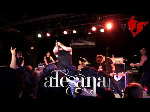 Alesana Performs This Conversation Is Over Live : 10 Frail Years Of Vanity And Wax Tour 2016