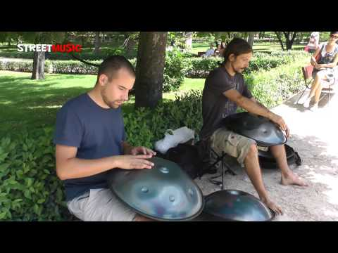 Panakos Project: Música Handpan - Busking in El Retiro (Madrid)