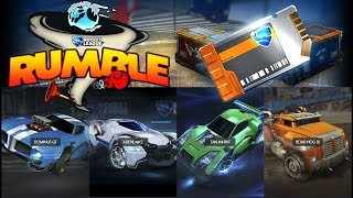 Hidden Changes / Additions in the Rumble Update for Rocket League!