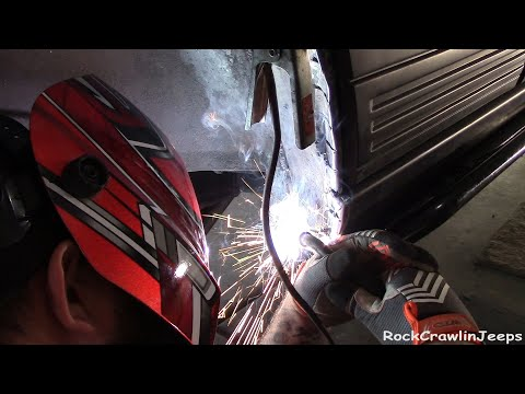 Grand Cherokee Wheeling Mods! How to PROPERLY cut your rear fenders