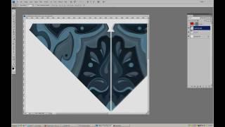 "Design Progression: ""Iridescent"" Pattern"