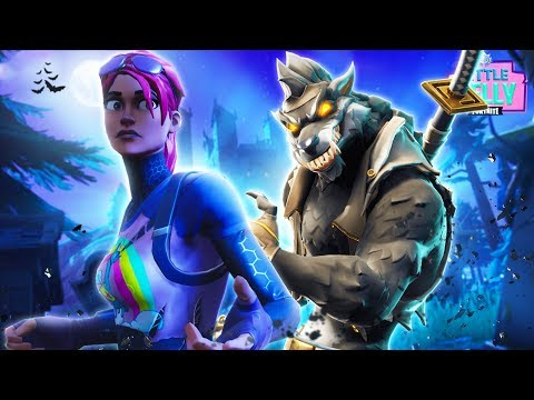 WEREWOLF ATTACK ON THE ISLAND! Fortnite Short Film | Little Kelly