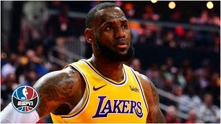 LeBron James records triple-double in Lakers' loss vs. Hawks | NBA Highlights