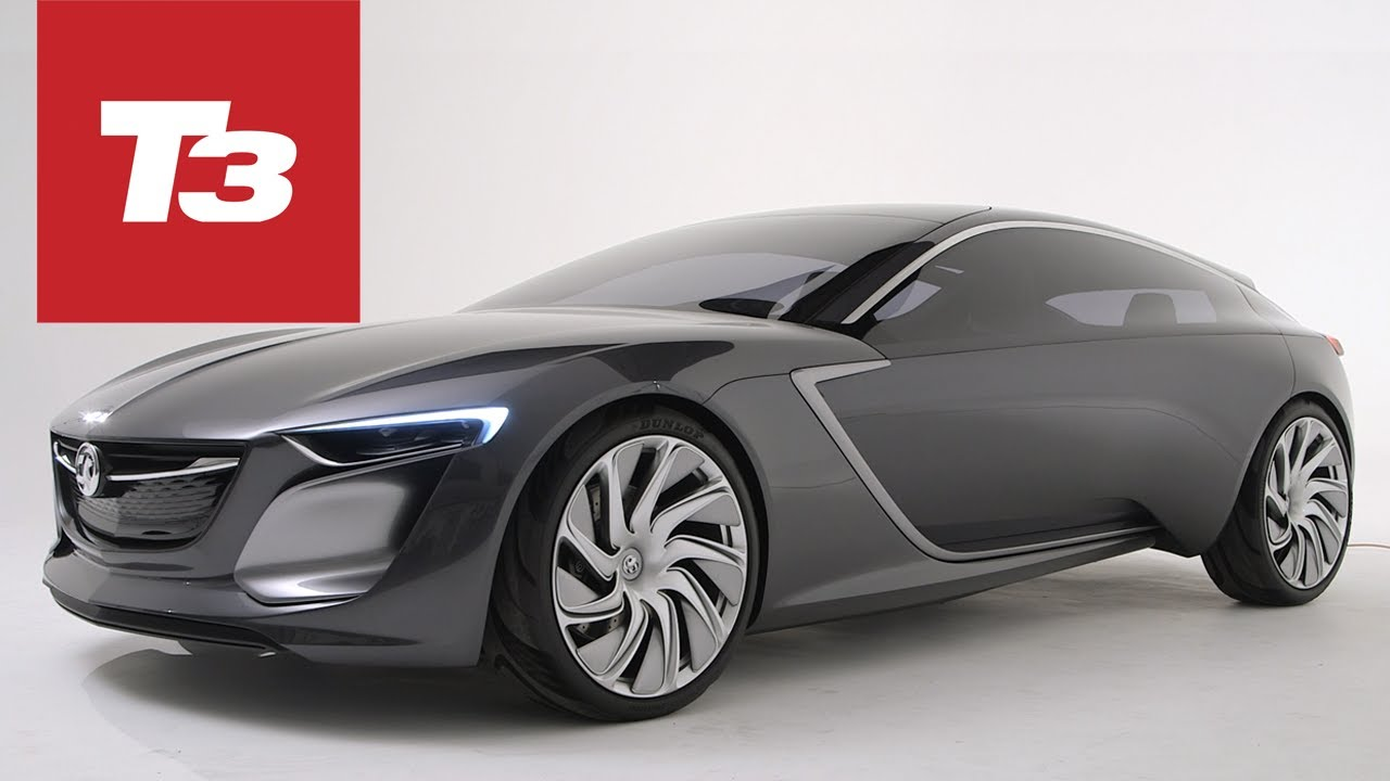 vauxhall monza concept car - youtube
