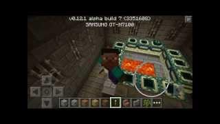 Портал в Эндер Мир сид для Minecraft PE 0.12 0.12.1