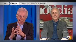 Mario Monti: 'Fiducia ad un eventuale governo M5S? Dipende dal programma'