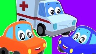 fünf kleinen Babys | bisschen rot Auto | Kinderreime | Zusammenstellung