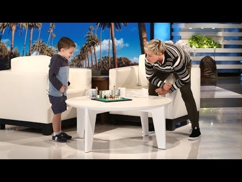 Ellen welcomed back 5-year-old Nate Seltzer, whose geography skills will amaze you.
