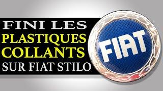 Enlever la matière collante sur les plastiques de Fiat Stilo 🚙
