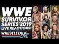 WWE Survivor Series 2019 LIVE Reactions! | WrestleTalk