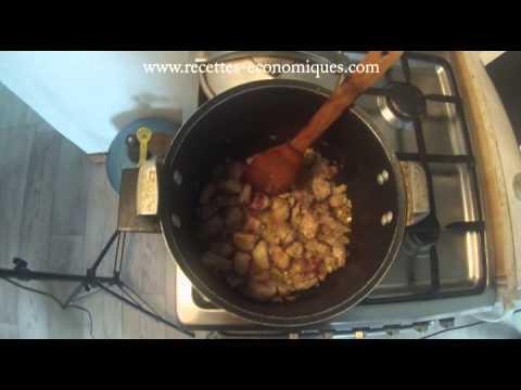 Recette du saut de porc la cocotte minute youtube - Saute de porc cocotte minute ...