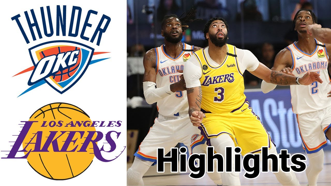 Lakers vs Thunder HIGHLIGHTS Full Game | NBA January 13