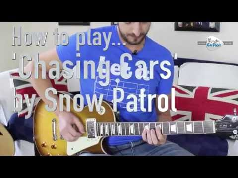Snow Patrol Chasing Cars Guitar Lesson Tutorial - Part 2 Lead Line