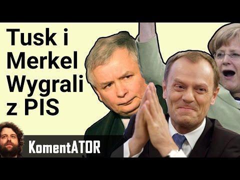 Tusk i Merkel Wygrali z PIS. Co to Oznacza dla Polski. Reelekcja Tuska - Komentator #560