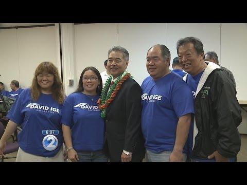 HSTA endorses David Ige for Governor