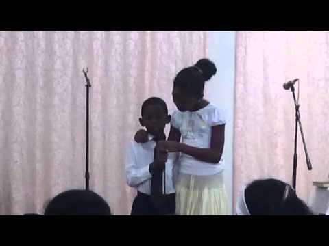 Canción de gratitud a Dios de un niño cubano