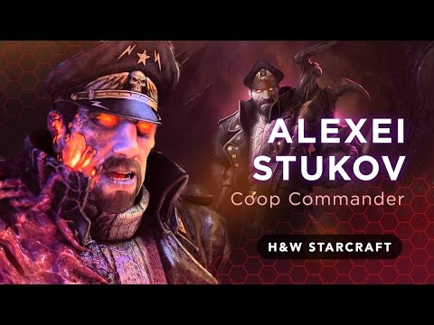 StarCraft 2 Co-op: Stukov Gameplay! (Alexei Stukov Commander) Infested Commander MUST SEE!