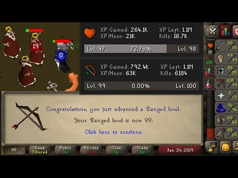 OSRS | 6 hour AFKing got me 99 ranged in a week | Busy-scaper's Guide to AFK Range Training