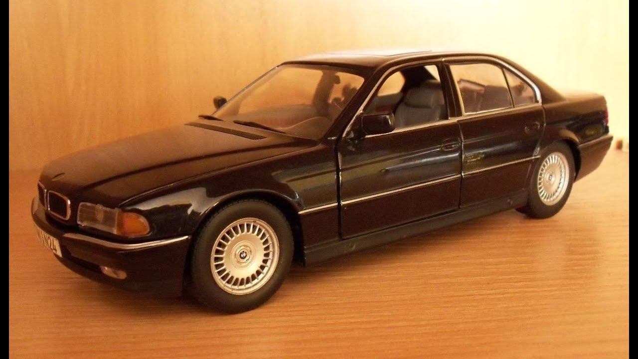 bmw 740i 7er e38 in scale 1 24 by paul s model art youtube. Black Bedroom Furniture Sets. Home Design Ideas