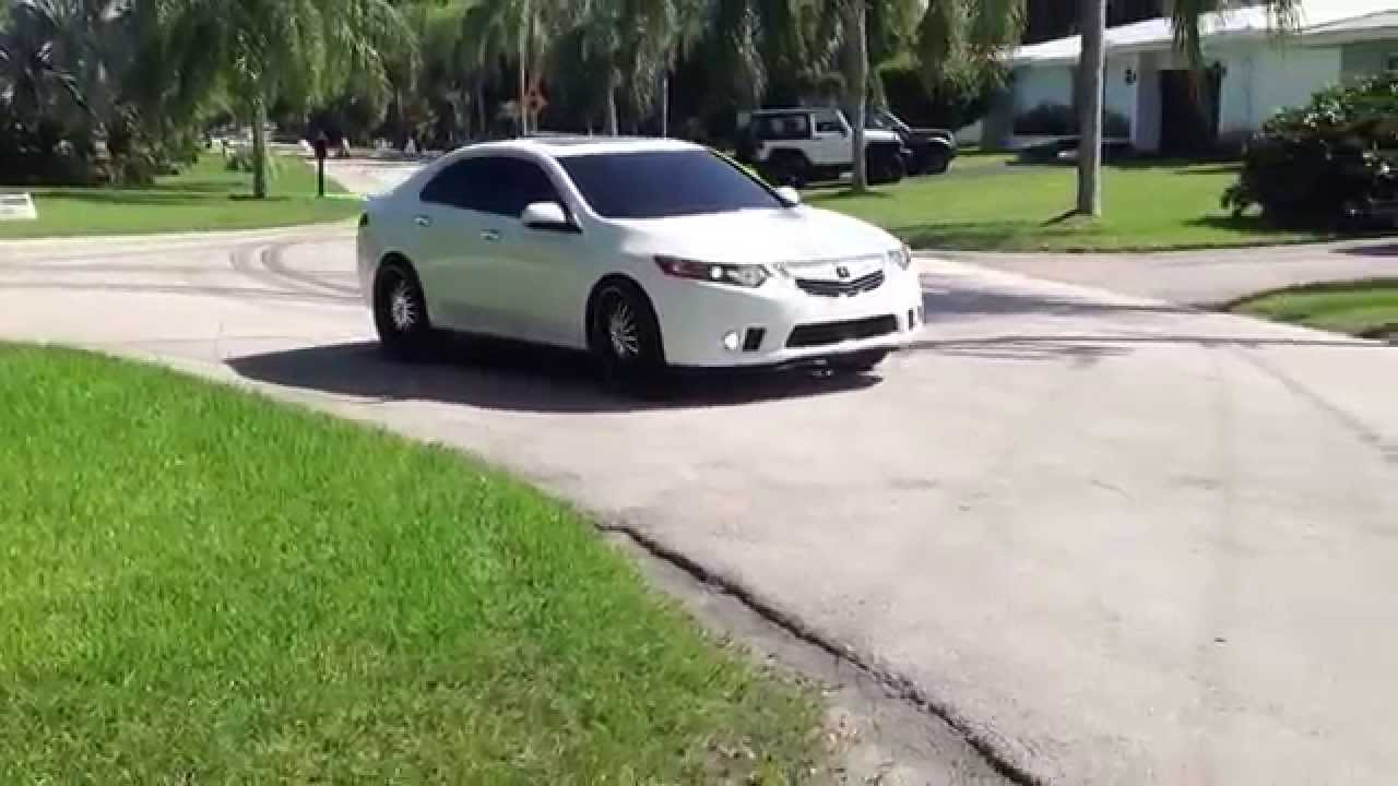 ACURA TSX ON INCH RIMS YouTube - Rims for acura tsx