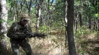 Camouflaging yourself, individual gear and equipment