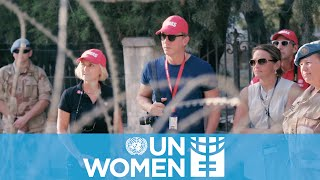 Daniel Craig shines a light on women's role in peace