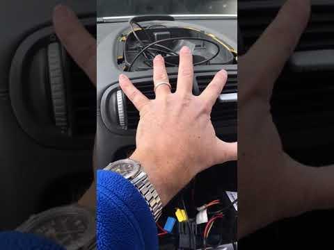 Porsche Cayenne Radio install